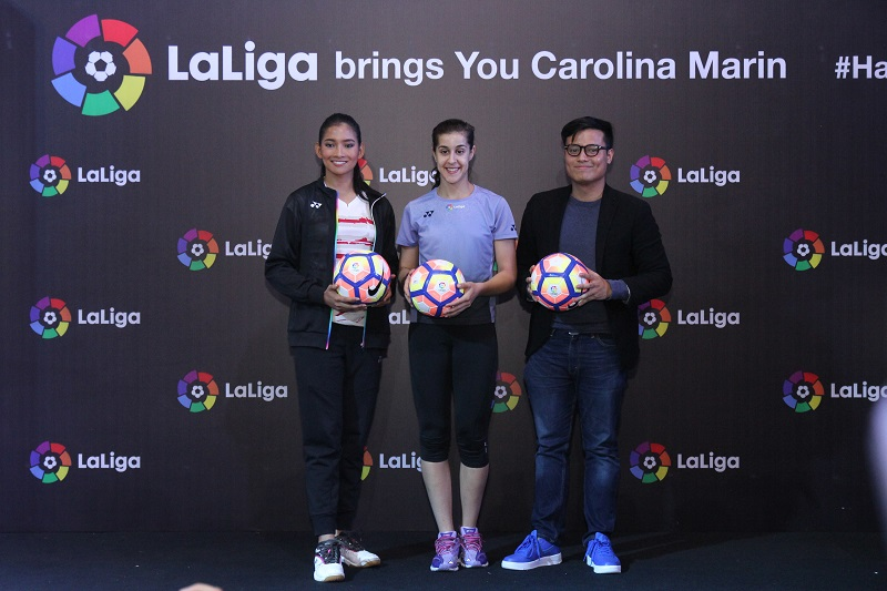 LaLiga Hadirkan Carolina Marin ke Jakarta
