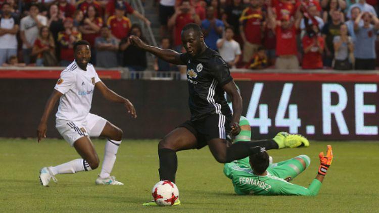 Romelu Lukaku Cetak Gol ke Real Salt Lake