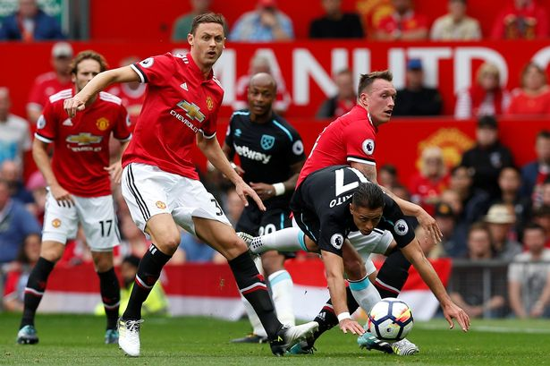 Nemanja Matic Liga Primer Manchester-United vs West Ham United