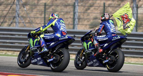 Bos Yamaha Geram Rossi dan Vinales Gagal Rebut Podium