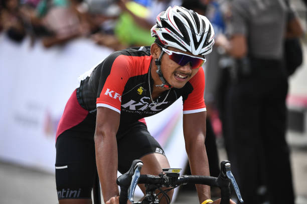 Jamal Jadi Pembalap Indonesia Pertama Yang Menjuarai Etape Tour Singkarak 2017