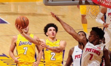Lakers Hentikan Tren Positif Pistons