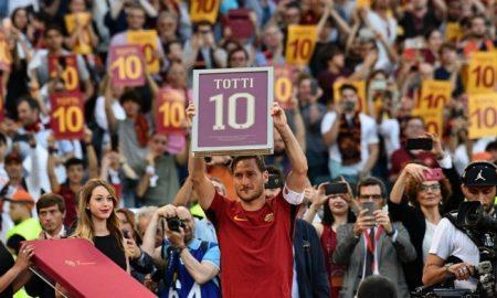 Francesco Totti, 28 5 2017