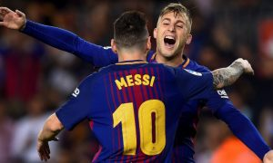 Gelandang Barcelona FC, Gerard Deulofeu 21 10 2017