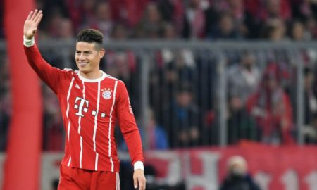 James Rodriguez, Liga Jerman di Allianz Arena 29-10-2017