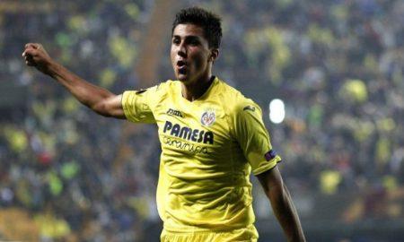 Rodrigo Hernandez laga Liga Europa di Stadion El Madrigal 4-11-2017