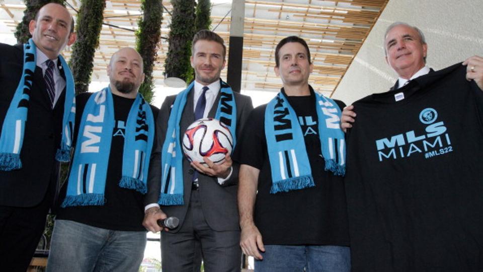 David Beckham Buat Klub Baru MLS, Futbol Miami