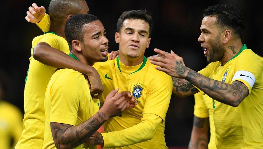 Gol Gabriel Jesus Penentu Kemenangan Brasil