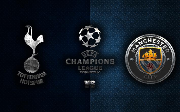 Thumb2 Tottenham Hotspur Fc Vs Manchester City Fc Quarterfinal Uefa