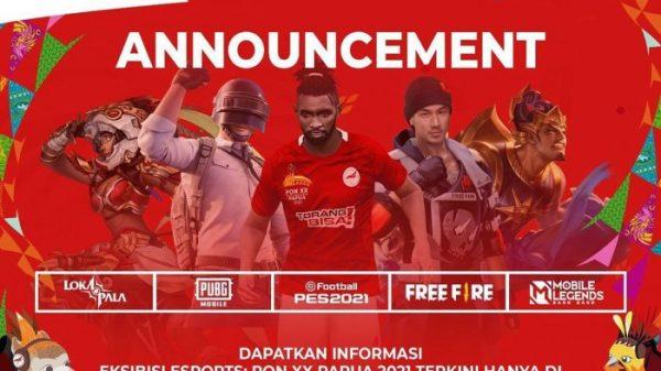 Esports Di PON XX Papua 2021
