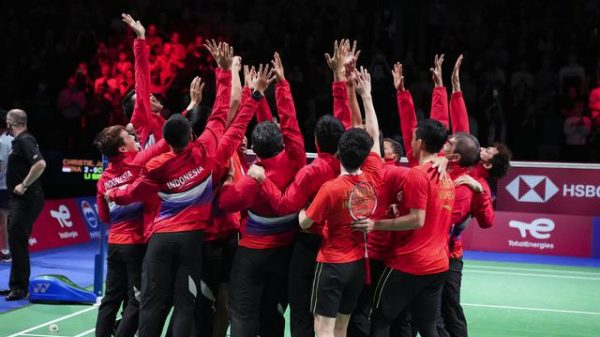 Indonesia Juara Thomas Cup 2021
