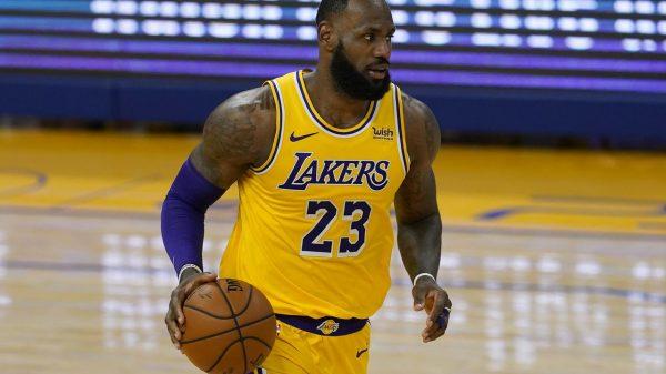 Lebron James NBA LA L akers