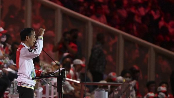 Presiden Joko Widodo , PON XX PAPUA